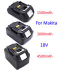 UK 18V Lithium Ion Battery 1.5AH/3.0AH/4.5AH For Makita LXT BL1815 BL1830 BL1845