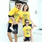 1sets Fashion Family outfits kids parents Girls Boys shirt Summer family clothes