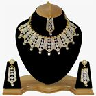 Indian Bollywood Style Fashion Gold Plated Bridal Jewelry Necklace Set  Style 11