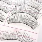 Fake Eye Lashes Natural Long Thick False Eyelashes Handmade Extension 10 Pairs