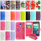 Luxury Magnetic Leather Flip Protective Wallet Book Case Cover For HTC Phones