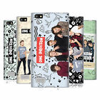OFFICIAL ONE DIRECTION GROUP PHOTO DOODLE ICON GEL CASE FOR BLACKBERRY PHONES