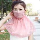 new summer prevented bask in Sunshade uv large neck guard breathable female mask