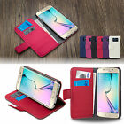 For Samsung Galaxy S7/S7 Edge Wallet Case Drop Protective Stand Leather Cover