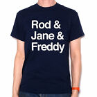 Rod, Jane & Freddy Names T Shirt Classic Kids TV Inspired Rainbow Zippy Folk