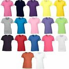 5 Pack Gildan Heavy Cotton T Shirt Womens Top Girls Ladies Tee Tshirt 18 Colours