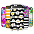 HEAD CASE DESIGNS FLORAL FASHION STRIPES HARD BACK CASE FOR BLACKBERRY PHONES