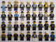 Watchers: 326 5 LEGO POLICE SWAT MINIFIGS FIGURES LOT town city service random w/ accessories