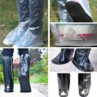 Non-Slip Motorcycle Bicycle Bike Rainproof Waterproof High-Top Shoes Boots Cover