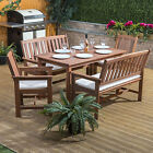 Alfresia Monaco Wooden Garden Furniture Set for 6