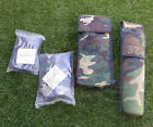 FRENCH ARMY SURPLUS WOODLAND CAMO PARACHUTE OXYGEN POUCHES,HALO/HAHO/ALTITUDE