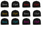 Bonnie & Clyde Snapback Cap Partner Look 2 Stück Relationship Paare Couple Hat