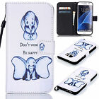 For Samsung Galaxy Note 8 S7 Edge Fashion Pattern Leather Card Wallet Case Cover