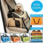 Ultra-Lock Collapsible Safety Travel Wire Folding Pet Dog or Cat Carseat Carrier