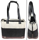 Fashion Tote Spotted Designer Fashion Travel Pet Dog Carrier bag