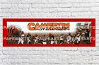 Personalized Cincinnati Bengals Name Poster with Border Mat Sports Art Banner $16.0 USD on eBay