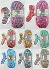 100g Austermann Step Flower Rainbow Colours Sockengarn Strumpfwolle Wolle 4-fach
