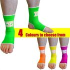NEON ANKLE SUPPORTS FOR MUAY THAI SPORTS TRAINING