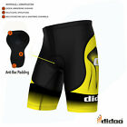 Didoo Pro Mens Cycling Shorts Fitness Boxers Gym Tight Fit Pants Coolmax® Padded