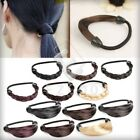 2pcs New Fashion Girl Women Synthetic Fiber Wig Hair Rope Hair Ponytail Holder