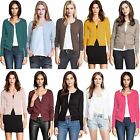 Ladies Fine Knit Ex H&M Cardigan Womens Round Neck Long Sleeve Top