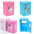 SANRIO HELLO KITTY MINA NO TABO VERTICAL METAL SAFE BANK 6546