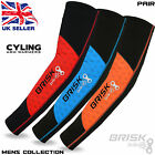 Mens Cycling Compression Arm Sleeve Elbow Warmers Biking Thermal Outdoor