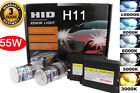 Slim H11 DC 55W Low Beam HID Xenon Headlight Replacement Conversion KIT For Audi