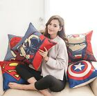 "18"" Cotton Linen The Avengers Throw Pillow Case Cushion Cover Home sofa Decor"