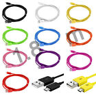 6FT Micro USB Charger Sync Data Flat Cable Cord For Samsung Galaxy S4 S3 i9300