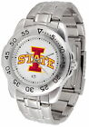 Iowa State Cyclones Sport Watch Steel Band White Dial Ladies or Mens