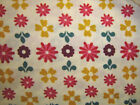 Domestic Bliss Liz Scott Floral Flower Bed Natural  By the yard Moda HTF