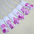 DIY Decoration Tools 108Pcs 3D Flower Gel Nail Art Stickers Decals Stamping