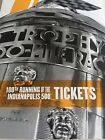 2 Indianapolis 500 tickets 100th Running 2016 INDY 500 Finish Line Near Aisle