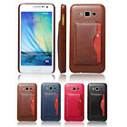 Luxury Leather Pouch Wallet Kickstand Hard Back Case Cover For Samsung GALAXY A7