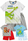 Boys Short Sleeved Disney The Good Dinosaur Pyjama Set New Kids PJs Ages 3-8 Yrs