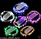 2 METER SUBMERSIBLE BATTERY STRING LIGHT 20 LED BRIGHT WEDDING CENTERPIECE UK
