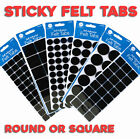 Self Adhesive Sticky Felt Pads - Wood Surface protection Scratch Furniture Table