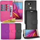"For Honor 5X Case 5.5"" -Card Slot Wallet Phone Cover Leather Flip +Touch Stylus"