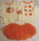 Gymboree 2T 3T 18-24 Month Choice Tutu Shirts Curly Barrette Outfit Halloween