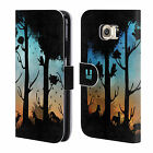HEAD CASE DREAMSCAPES SILHOUETTES LEATHER BOOK WALLET CASE FOR SAMSUNG GALAXY S6