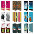 HEAD CASE DESIGNS MIX CHRISTMAS COLLECTION LEATHER BOOK CASE FOR NOKIA LUMIA 630