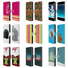 HEAD CASE MIX CHRISTMAS COLLECTION LEATHER BOOK CASE FOR SONY XPERIA M4 AQUA