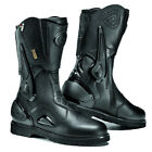 SIDI ARMADA BLACK GORE GORETEX LEATHER MOTORCYCLE TOURING BOOTS