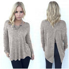 Women's Long Sleeve Shirt Casual Lace Blouse Loose Cotton Tops Lady T Shirt WL