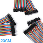 10cm Male To Male To Female To Female Jumper Wire Dupont Cable Ribbon Kit TE461