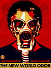 The New World Odor Gas Mask Propaganda Art Gigantic Print POSTER