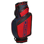 OGIO GOTHAM CART GOLF BAG - NEW 2016 - 15-WAY TOP w  6 POCKETS - RED BLUE