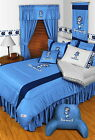North Carolina Tar Heels Comforter Sham Valance Twin Full Queen King Sizes