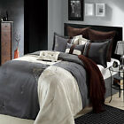 Hipster Beige Comforter Bed In A Bag Set 8 Piece